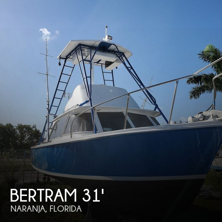 Used BERTRAM Fishing boats For Sale by owner | 1961 Bertram 31 Sportfish