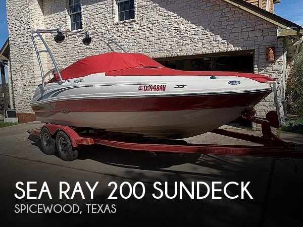 Used Deck Boats For Sale in Texas by owner | 2004 Sea Ray 200 Sundeck