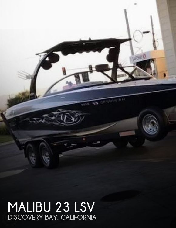 Used MALIBU Boats For Sale in California by owner | 2007 Malibu 23 LSV