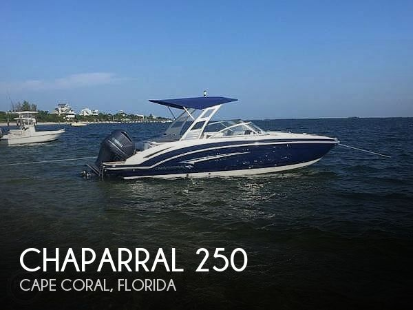 Used Chaparral Boats For Sale in Florida by owner | 2017 Chaparral 250 Suncoast