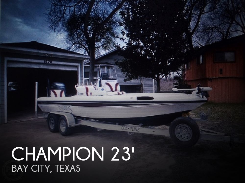 Used Champion Boats For Sale by owner   2007 Champion 24 Bay Champ
