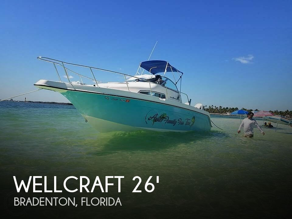 Used Wellcraft Boats For Sale in Florida by owner | 1996 Wellcraft Sport Coastal 264