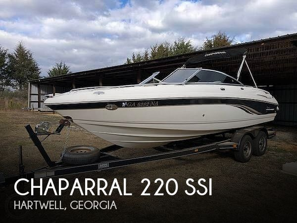 Used Chaparral Boats For Sale in Spartanburg, South Carolina by owner | 2003 Chaparral 220 SSI