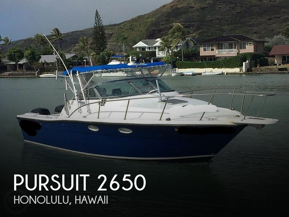 Used Power boats For Sale in Hawaii by owner   1989 Pursuit 2650