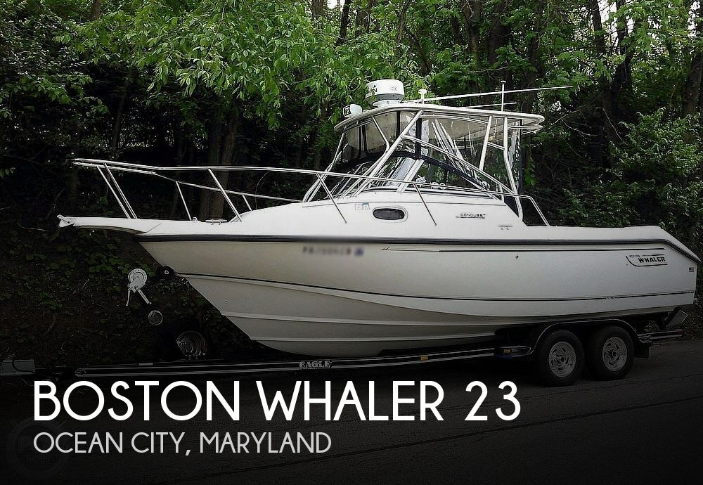 Used Boston Whaler 23 Conquest Boats For Sale by owner | 2000 Boston Whaler 23 Conquest
