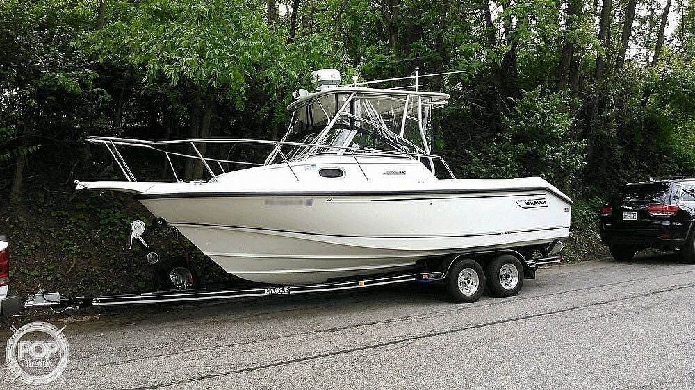 2000 Boston Whaler boat for sale, model of the boat is 23 Conquest & Image # 2 of 12
