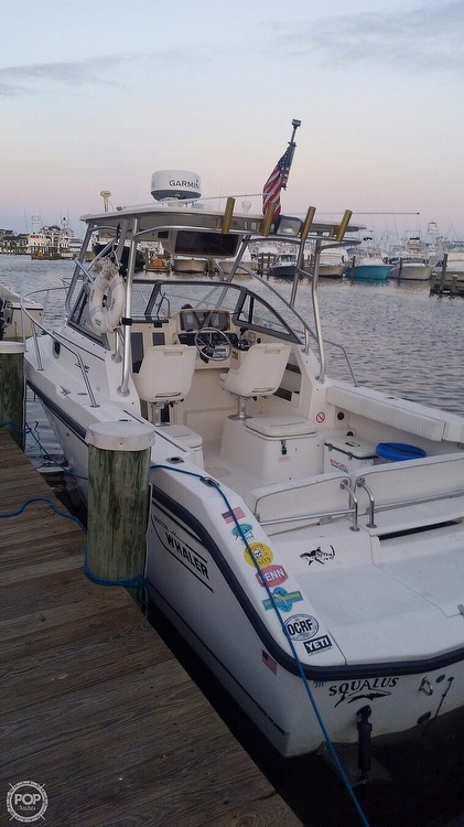 2000 Boston Whaler boat for sale, model of the boat is 23 Conquest & Image # 9 of 12