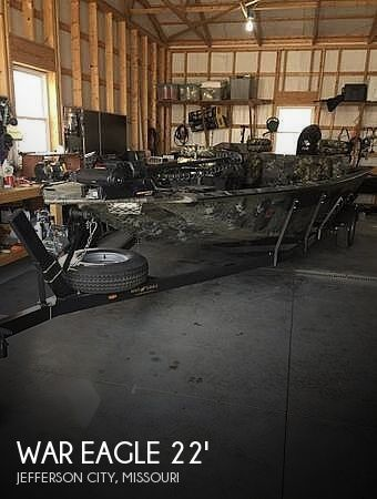 Used War Eagle Boats For Sale by owner | 2018 War Eagle Blackhawk 22