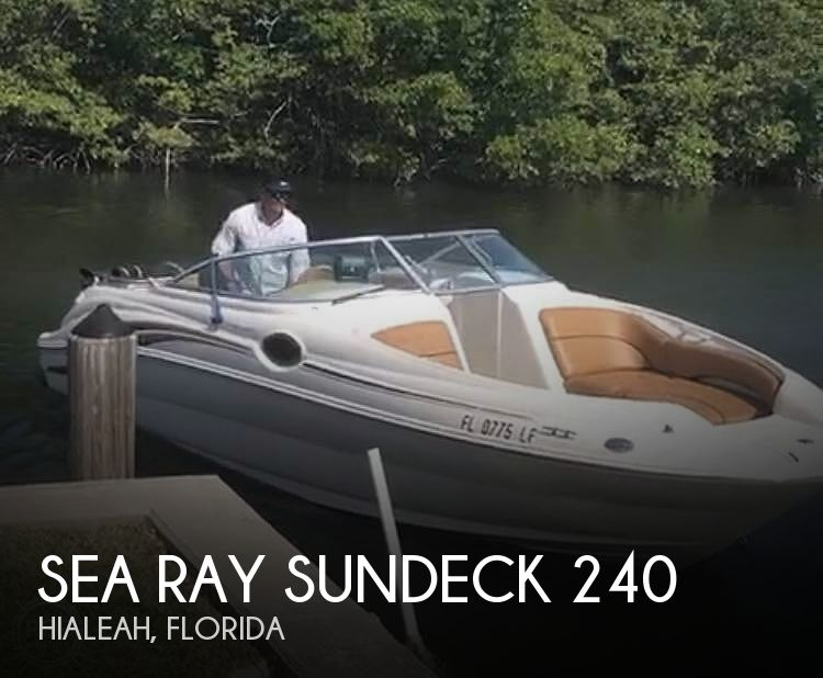 Used Sea Ray Sundeck 240 Boats For Sale by owner | 2000 Sea Ray Sundeck 240