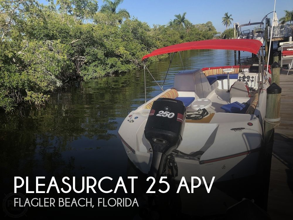 1991 PleasurCat boat for sale, model of the boat is 25 APV & Image # 1 of 40