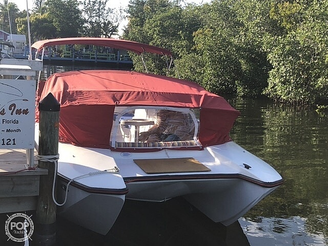 1991 PleasurCat boat for sale, model of the boat is 25 APV & Image # 22 of 40