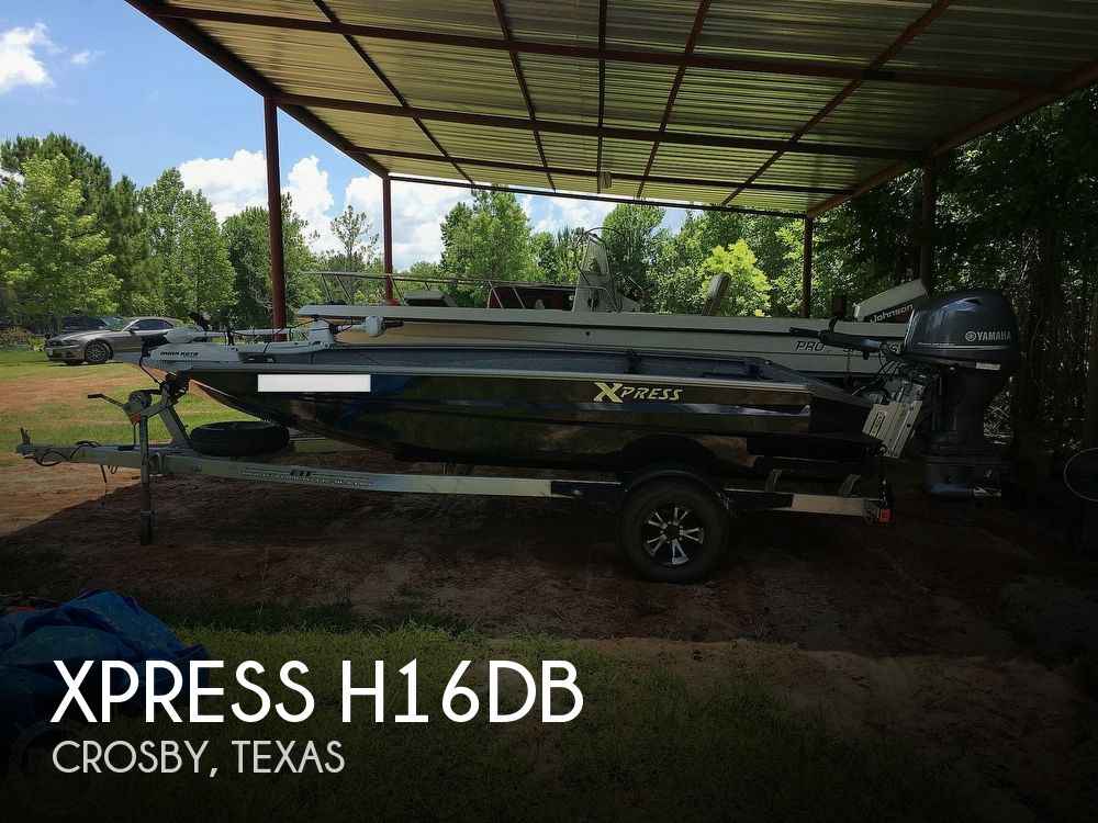 2017 Xpress boat for sale, model of the boat is H16DB & Image # 1 of 41
