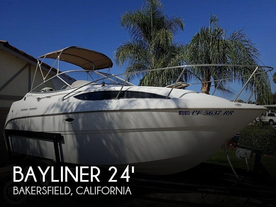 Used Boats For Sale in Bakersfield, California by owner | 2001 Bayliner 2455 Ceira