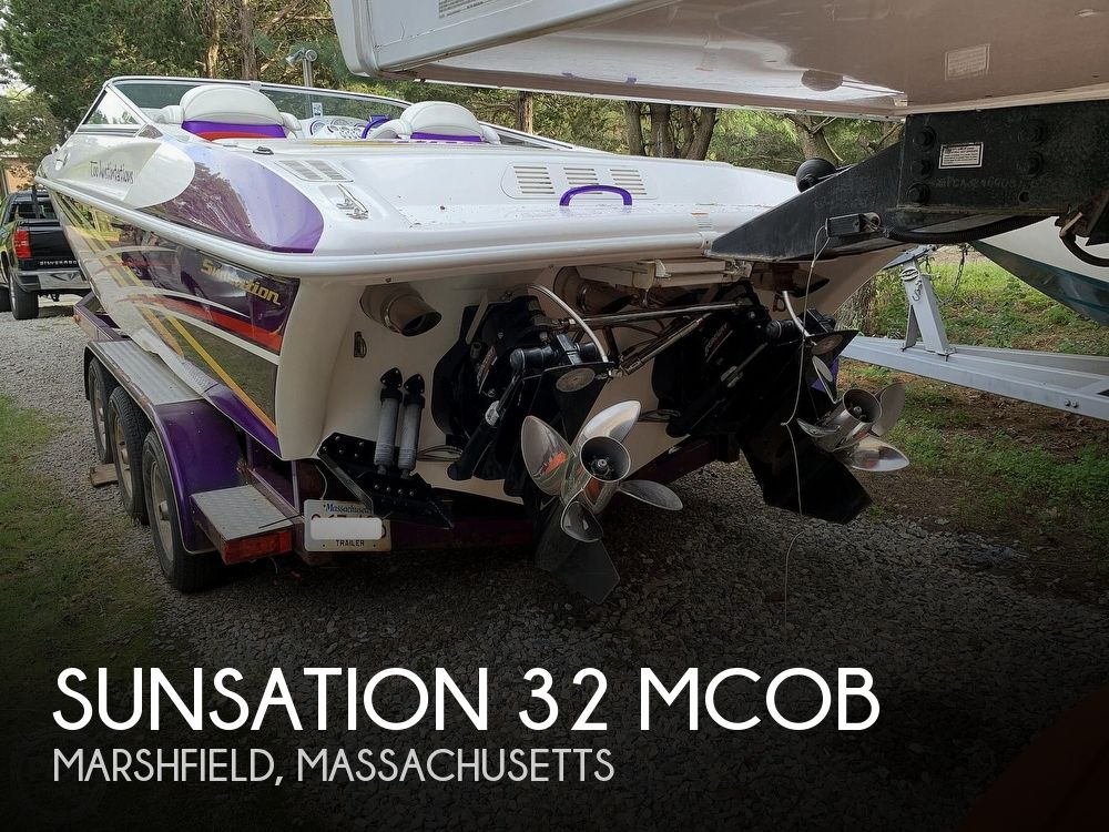 Used Sunsation Boats For Sale by owner   2004 Sunsation 32 MCOB