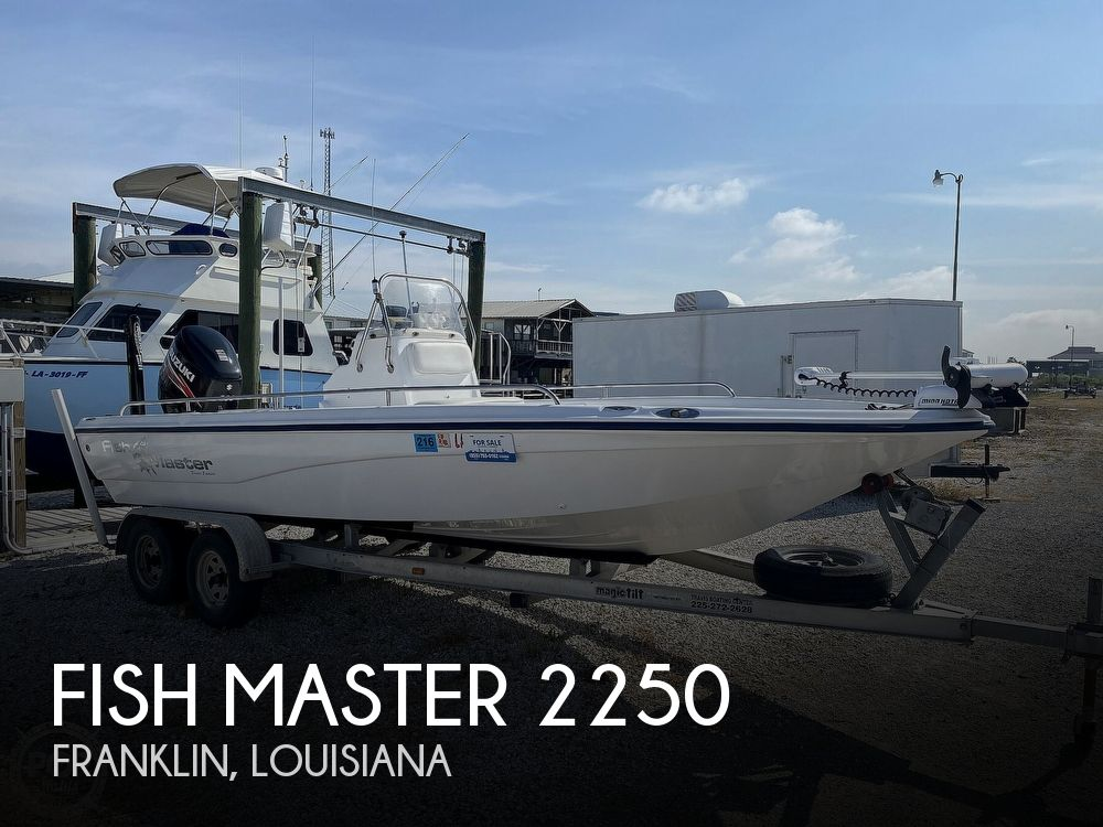 2004 FISH MASTER 2250 CC TRAVIS EDITION for sale