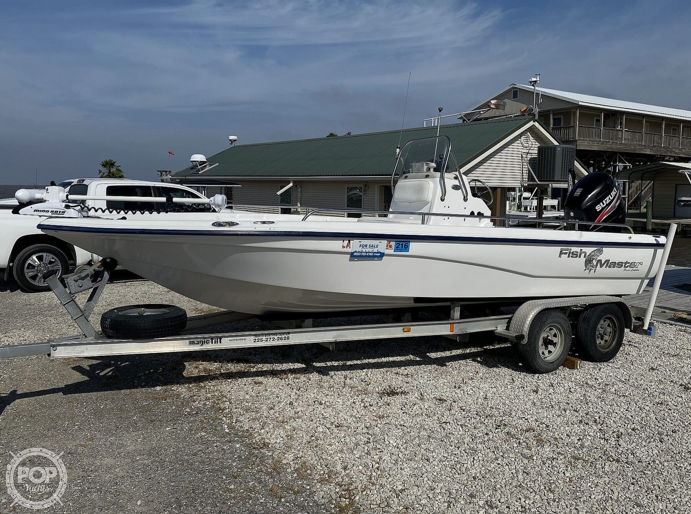 2004 Fish Master boat for sale, model of the boat is 2250 CC Travis Edition & Image # 6 of 41