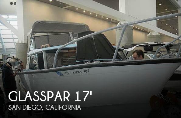 Used Glasspar Boats For Sale by owner | 1959 18 foot Glasspar Seafair Sedan