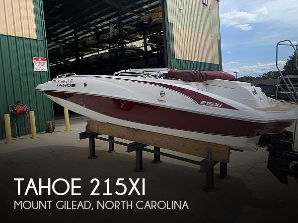 Used Tahoe Deck Boats For Sale in North Carolina by owner | 2017 Tahoe 215XI