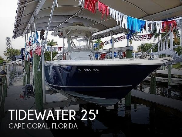 Used Tidewater Boats For Sale by owner | 2013 Tidewater 250 CC