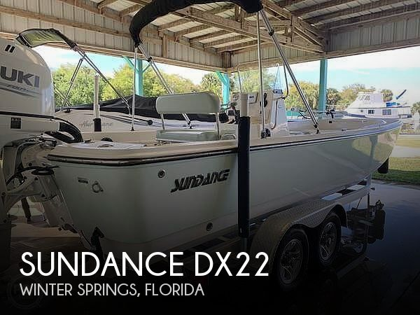 Used Sundance  Boats For Sale by owner | 2017 Sundance Dx22