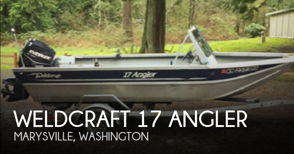 Used Weldcraft Boats For Sale by owner | 1999 Weldcraft 17 Angler