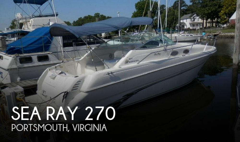 1998 SEA RAY 270 SUNDANCER for sale