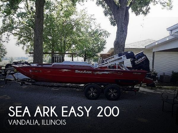 Used Boats For Sale in Springfield, Illinois by owner | 2018 Sea Ark 20