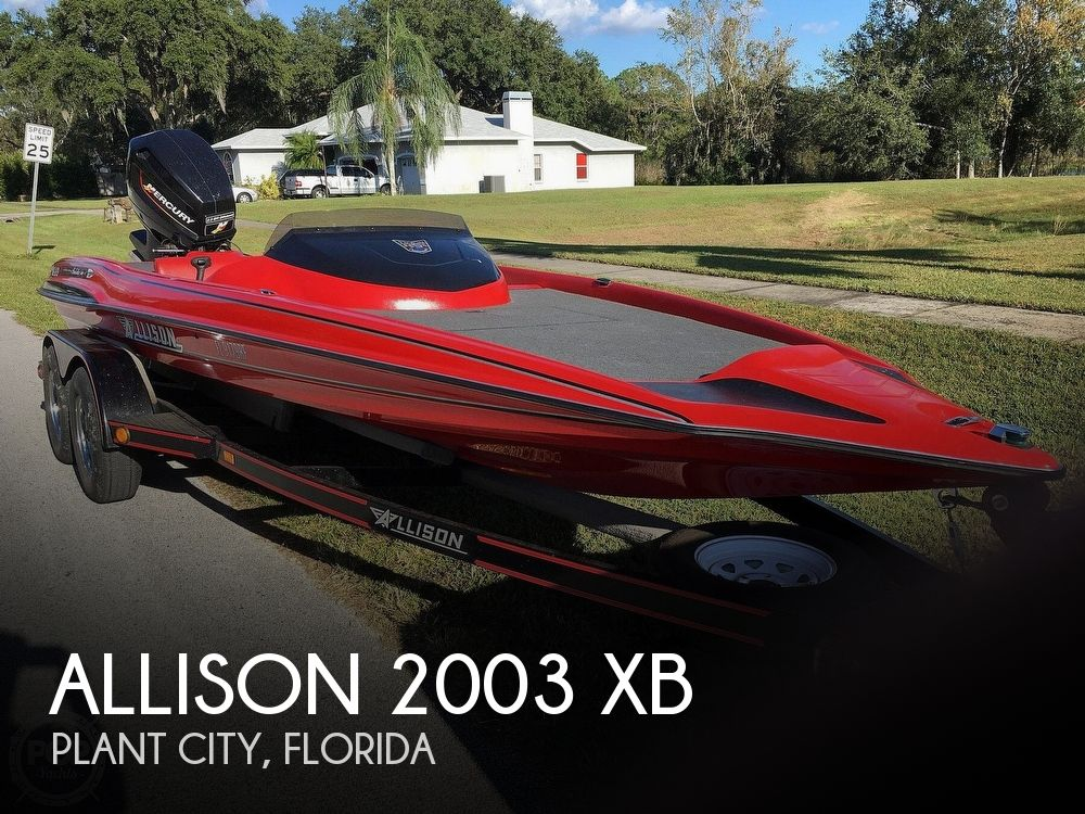 1994 Allison boat for sale, model of the boat is 2003 XB & Image # 1 of 41