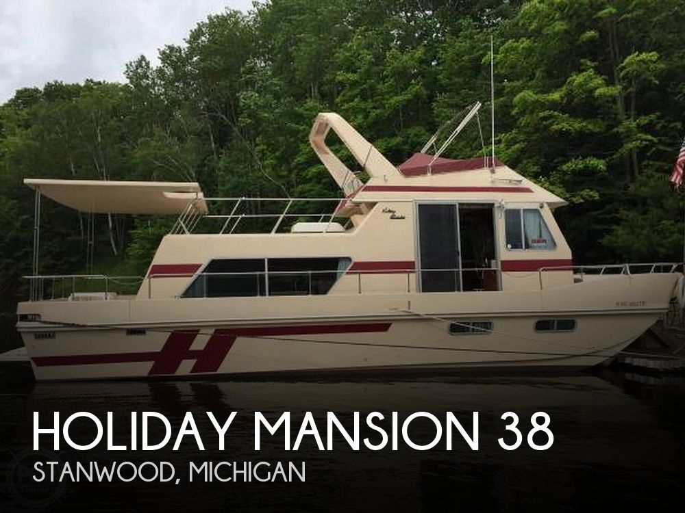 Used Holiday Mansion Houseboats For Sale by owner | 1991 Holiday Mansion 38