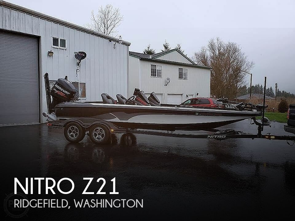 2017 Nitro boat for sale, model of the boat is Z21 & Image # 1 of 41