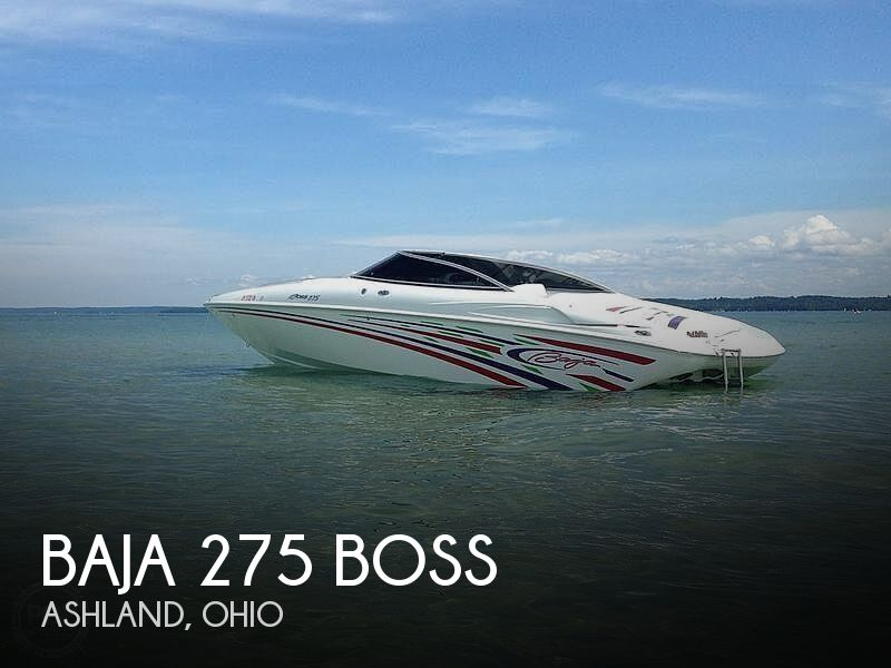 Used Boats For Sale in Canton, Ohio by owner | 2007 Baja 275 Boss