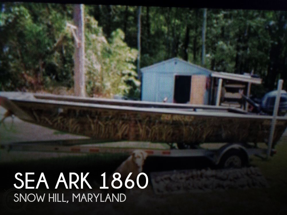Used Sea ark Boats For Sale by owner | 2016 Sea Ark 1860