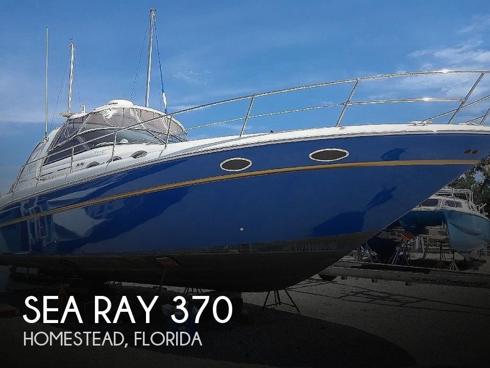 Used Sea Ray 37 Boats For Sale by owner | 1996 Sea Ray 37