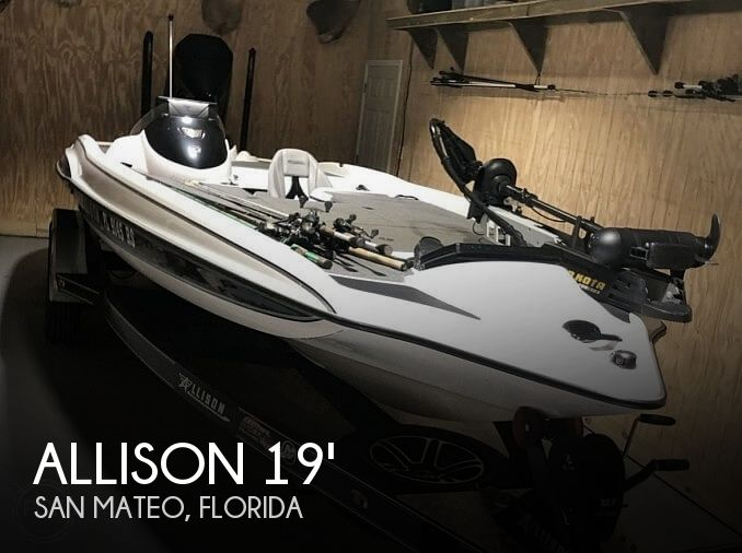 Used Allison Boats For Sale by owner | 2018 Allison XB21 Tournament Edition