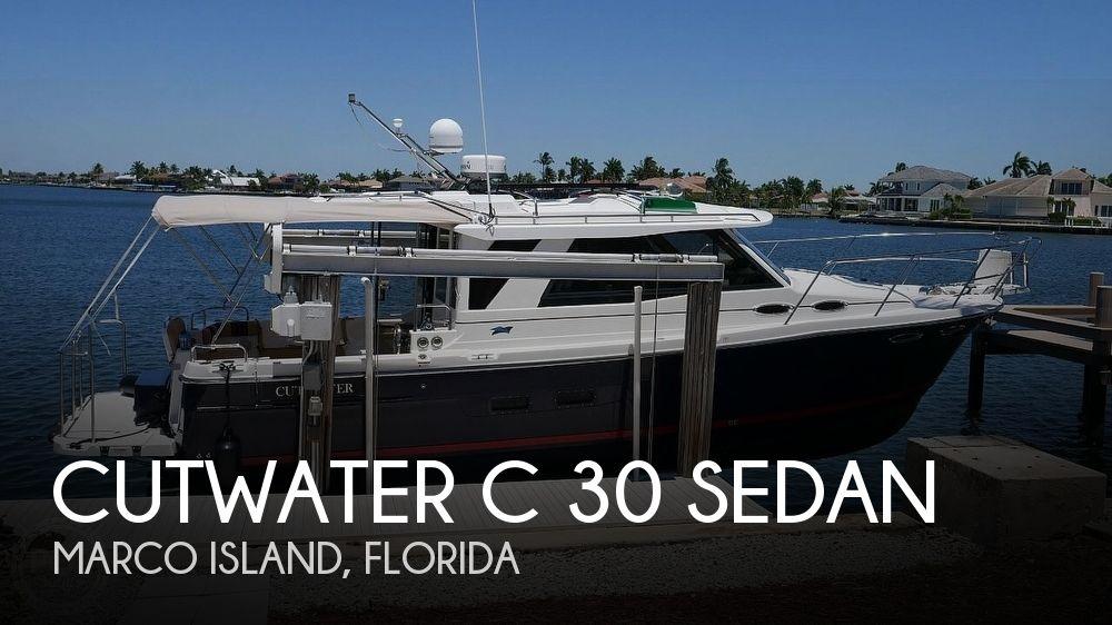 2014 CUTWATER C 30 SEDAN for sale