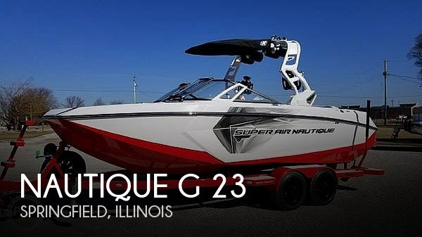 Used Boats For Sale in Illinois by owner | 2018 Nautique 23