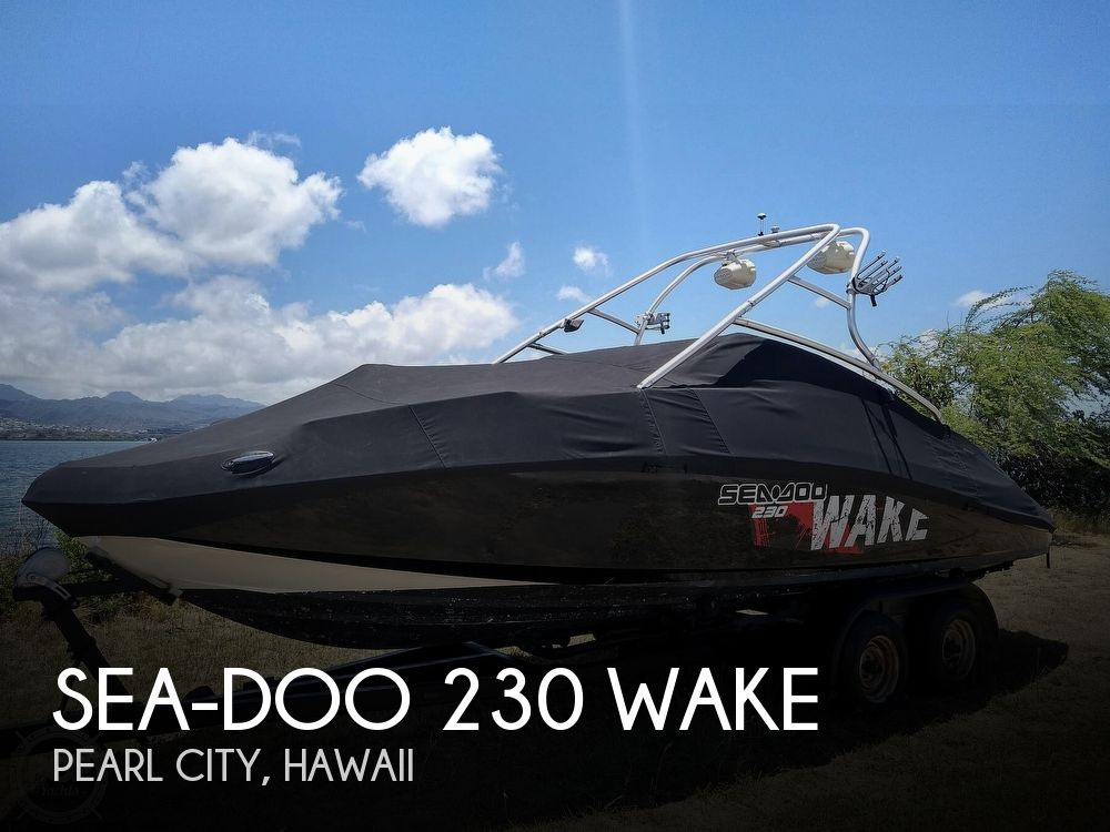 2007 Sea Doo PWC boat for sale, model of the boat is 230 Wake & Image # 1 of 40