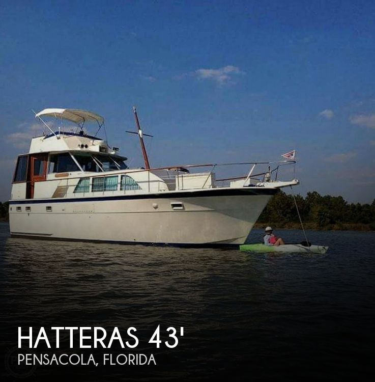 1972 Hatteras 43' Double Cabin - image 1