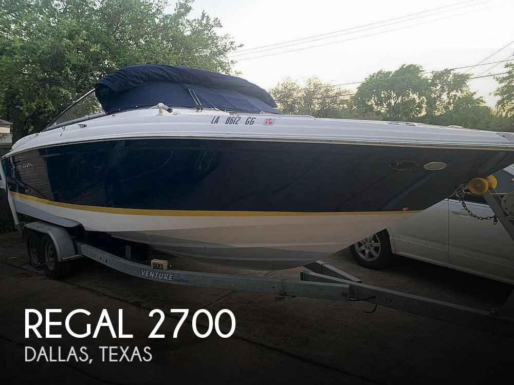 Used Regal Boats For Sale in Texas by owner | 2007 Regal 2700