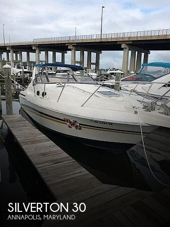 Used Silverton Boats For Sale in Maryland by owner | 1988 Silverton 30