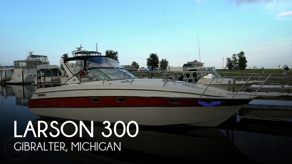 Used Larson Boats For Sale in Michigan by owner   1990 Larson 300 Contempra