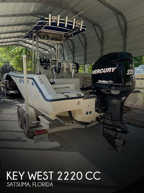 Used Key West Boats For Sale in Jacksonville, Florida by owner   2003 Key West 2220 CC