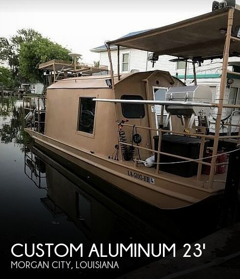 Used Houseboats For Sale in Lafayette, Louisiana by owner | 1995 Custom Aluminum 23