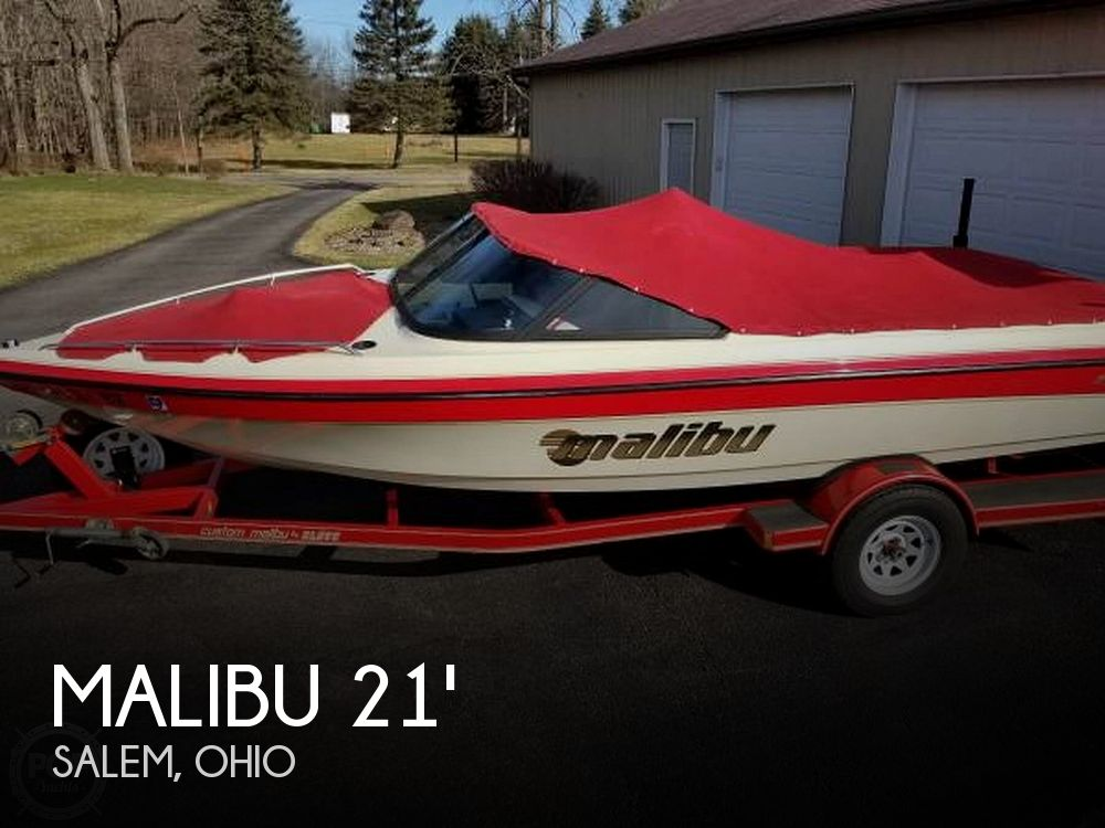 Used Ski Boats For Sale in Youngstown, Ohio by owner | 1997 Malibu Sunsetter LX 21