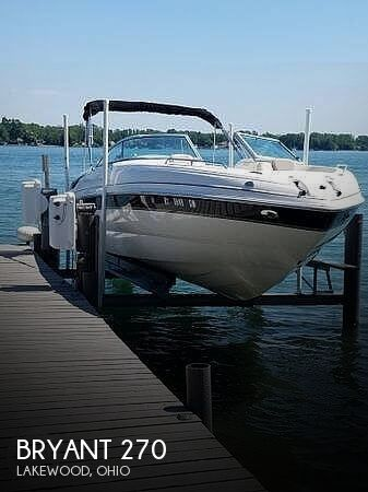 Used Bryant Boats For Sale in Cleveland, Ohio by owner | 2007 Bryant 270