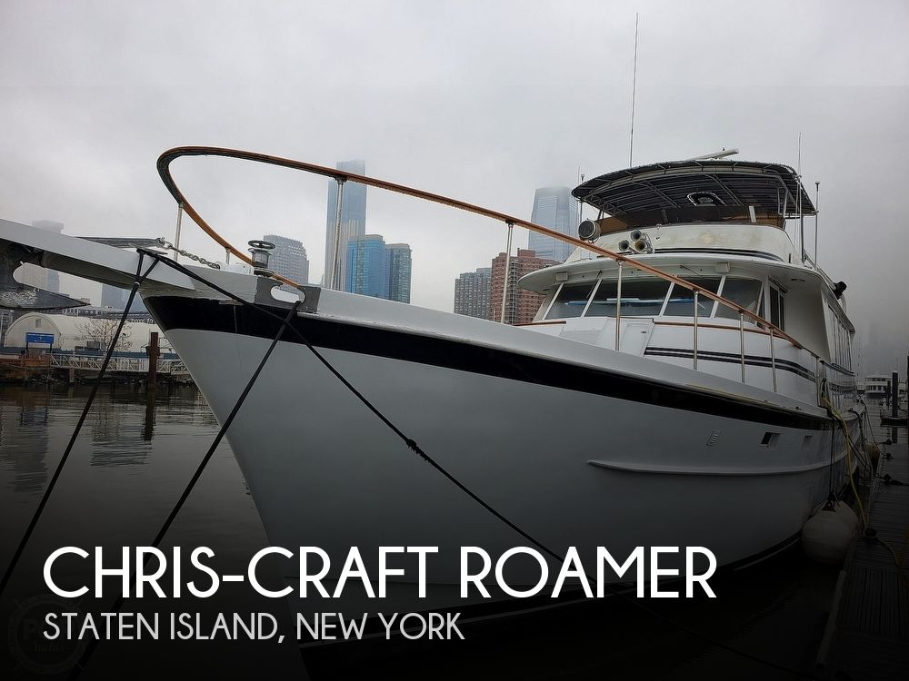 Used Boats For Sale in Trenton, New Jersey by owner | 1976 81 foot Chris-Craft Roamer