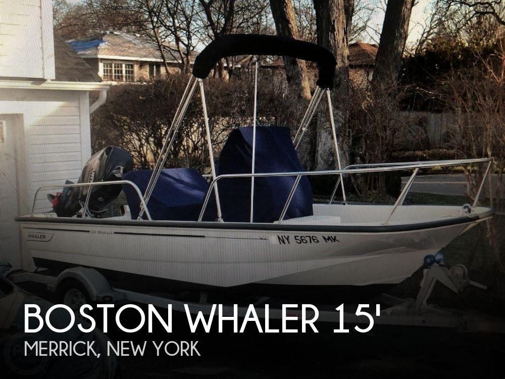 Used Boston Whaler Boats For Sale in New York by owner | 2013 15 foot Boston Whaler Montauk