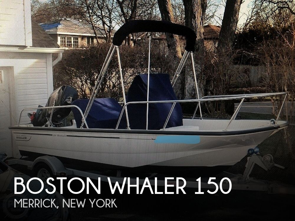 2013 Boston Whaler boat for sale, model of the boat is 150 Montauk & Image # 1 of 1