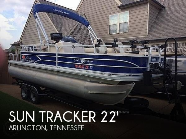 Used Boats For Sale in Memphis, Tennessee by owner | 2016 Sun Tracker Fishing Barge22DLX
