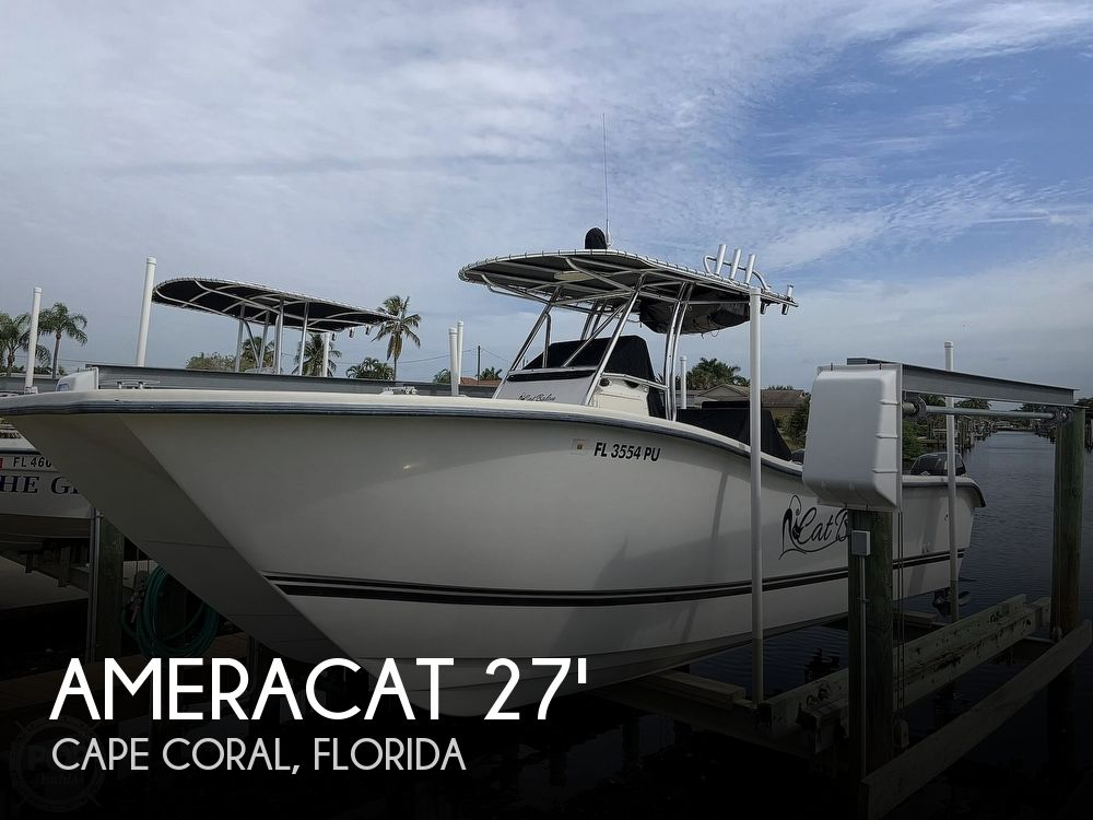Used Ameracat Boats For Sale by owner | 2015 Ameracat 27